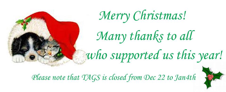 2014 Christmas closure