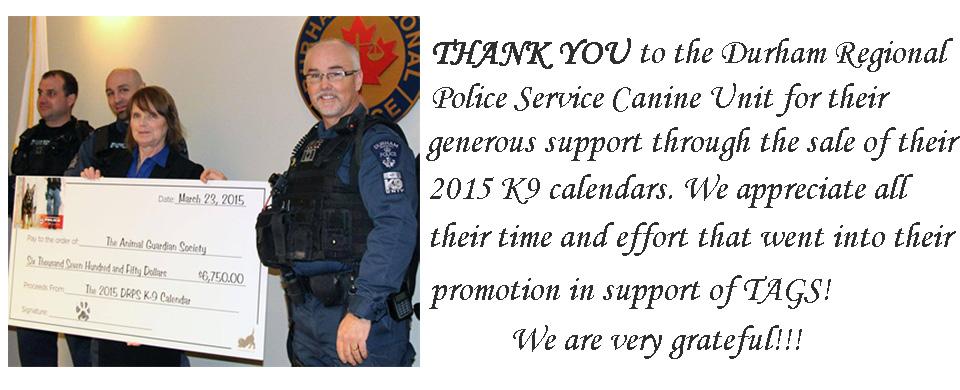police calendar presentation slide