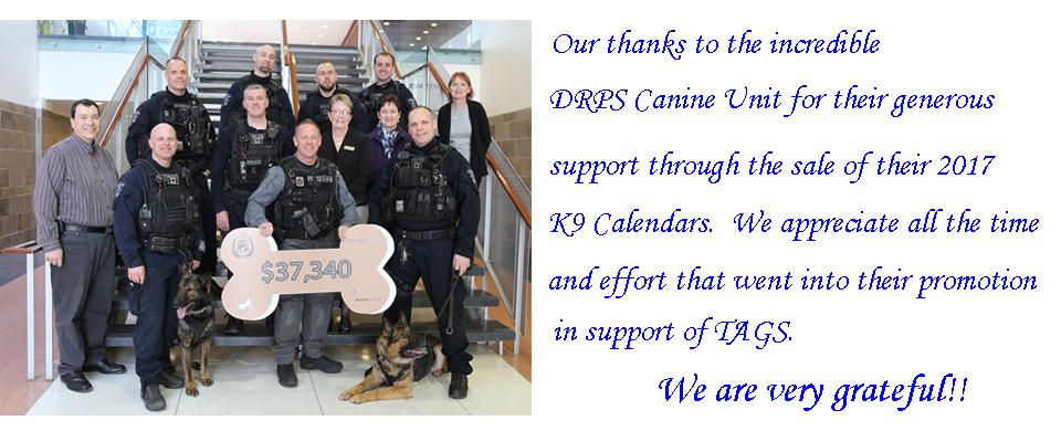 DRPS calendar thanks